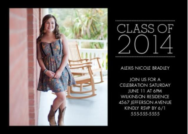 Save Money with These Free Printable Graduation Invitations – Snapfish Graduation Invitations