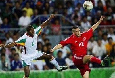 dancing football