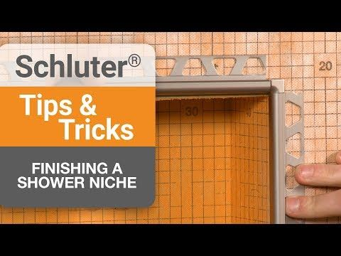 Schluter Systems Shower System W Preformed Tray Part 1