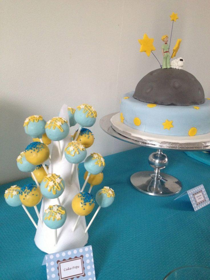 Cake pops Petit Prince, pour la fete de mon petit prince!