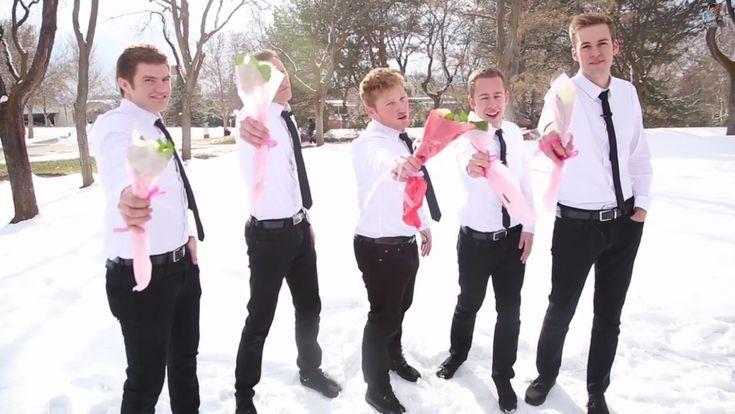 What these young men did for some women on Valentine's Day will make you smile from ear to ear Marcia Shepherd