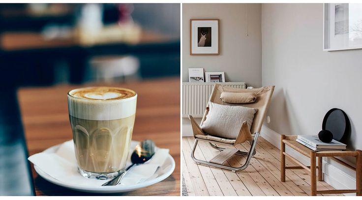 CORTO DE CAFÉ  No sabemos si las preferencias por el café están relacionadas con un estilo u otro. Puede que sí... Y puede que los que prefieran el café con mayor cantidad de leche (y corto de café), se inclinen por una decoración luminosa basada en una paleta de tostados claros. Café, café | Ventas en Westwing