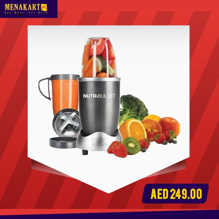 Magic Bullet NutriBullet 8 Piece High Speed Blender Mixer #tiffin #office #home #asian #menakart #online #shopping #thermotiffin
