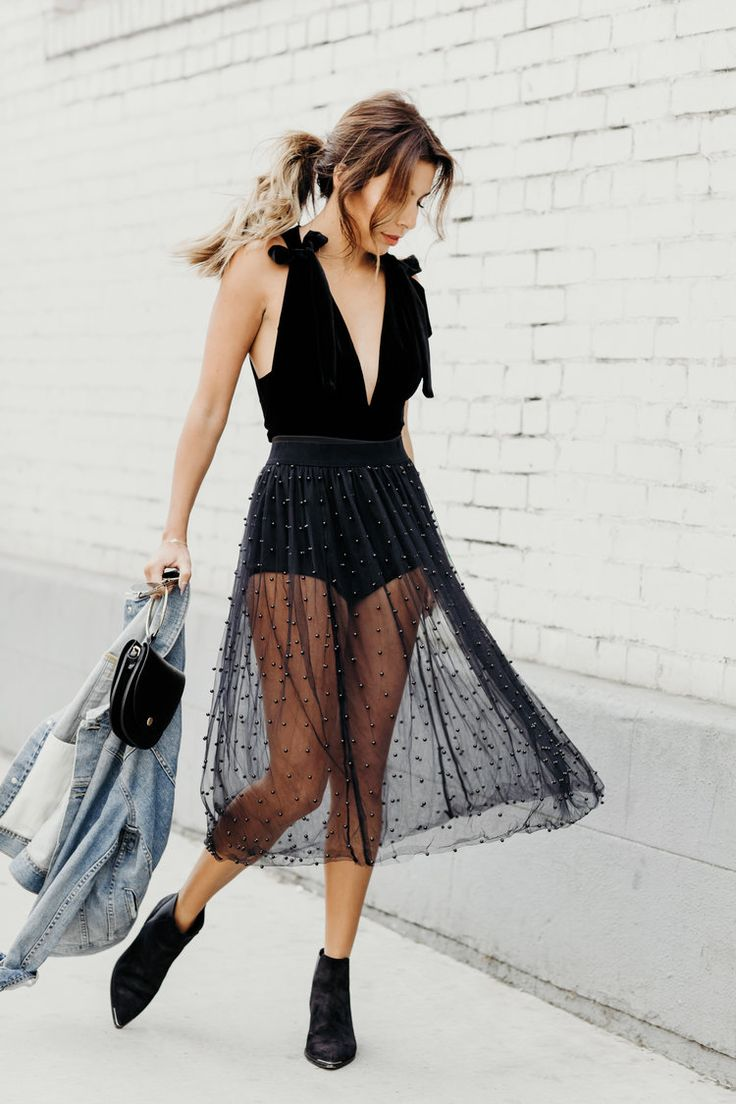 Fun tulle skirts for the holidays!