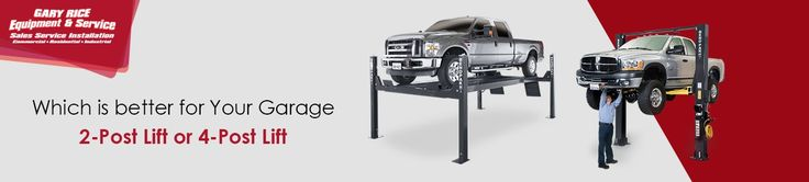 Which Auto Lift is better for Your Garage: 2-Post Lift or A 4-Post Lift.