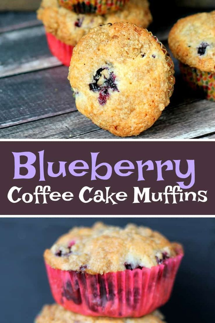 Blueberry Coffee Cake Muffins Recipe Breakfast Recipes