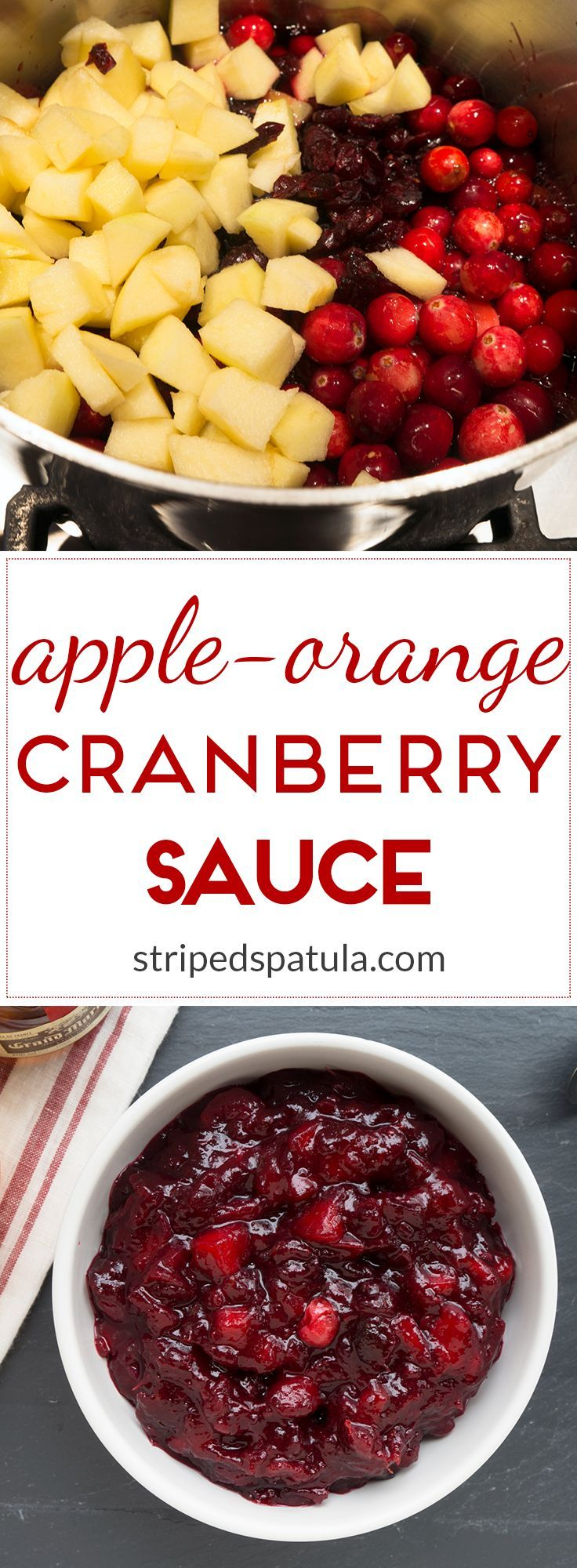 Easy to prepare, gently-spiced, and bursting with fruit flavor, this cranberry sauce is a great addition to any Thanksgiving feast.