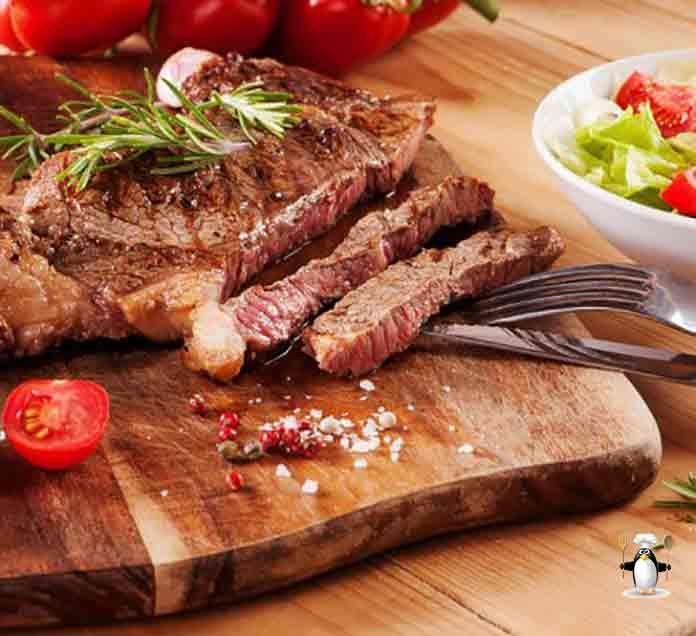 Смотрите Ромштекс из говядины рецепт