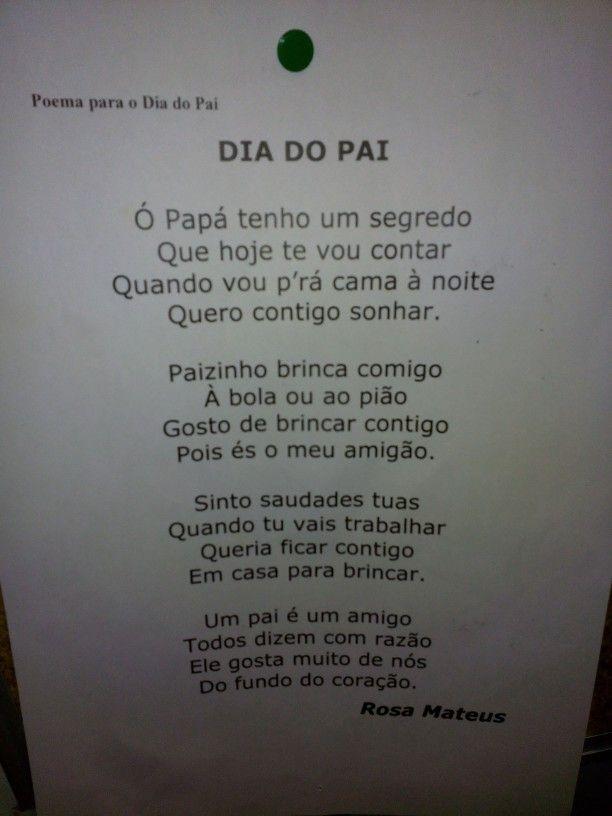 Poema dia do pai