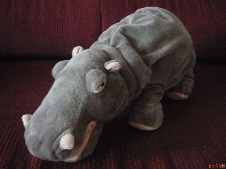 No. 85 | víziló | hippo | plüss | plush | Ikea