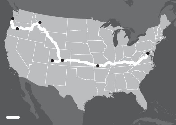How to Bike Across America
