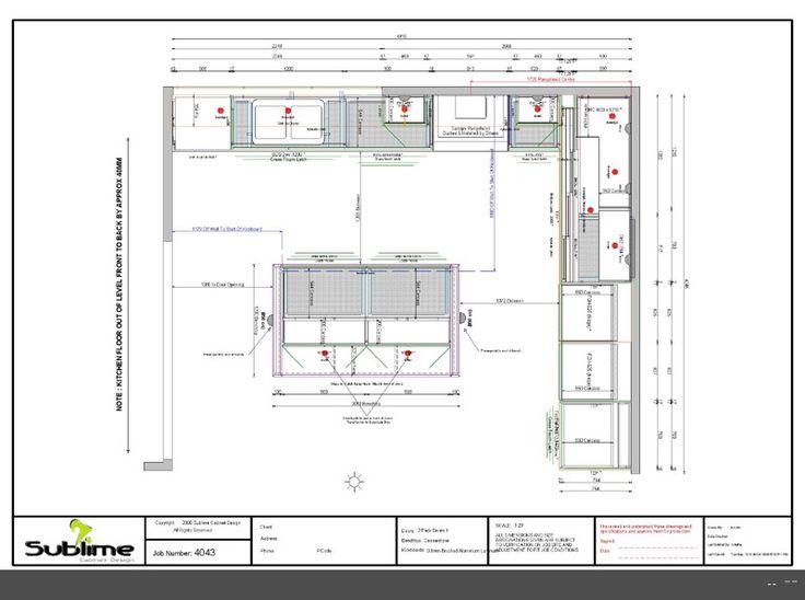 How To Design A Kitchen Floor Plan