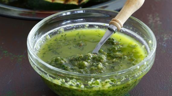 Соус Зеленая богиня, пошаговый рецепт с фото