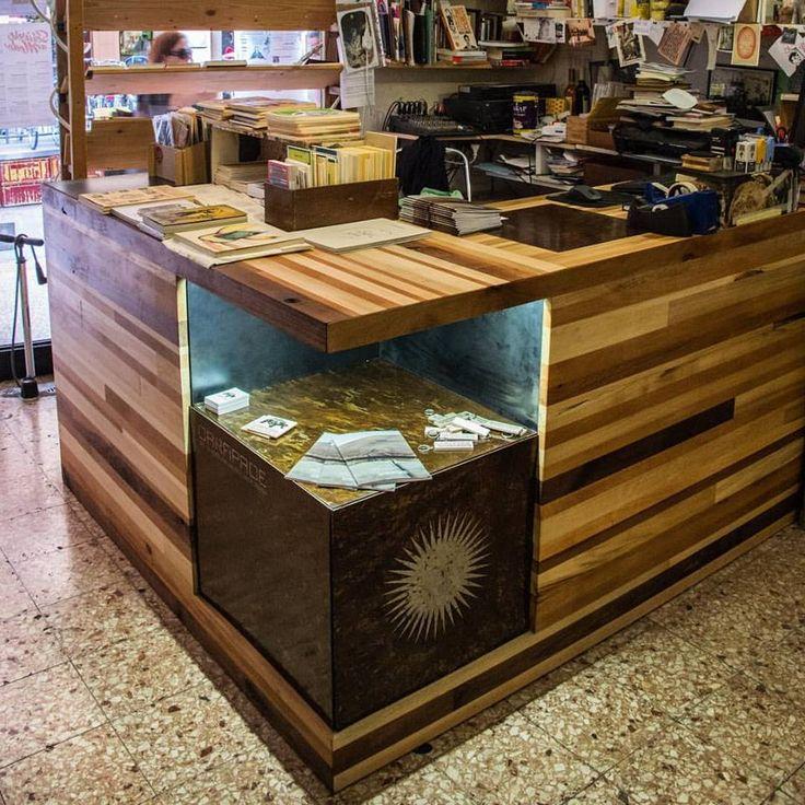 Buuko 2015 // Desk for MODO Infoshop Library in Bologna //