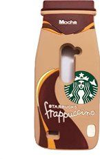 Thunderous LG Leon 4G case,3D Starbucks Coffee Bottle Cup Ice Cream Silicone Back Cover Case for LG Leon 4G C40 LTE H340N H345