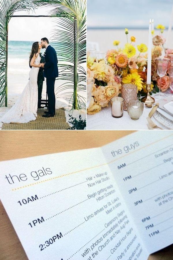 Wedding Websites Wedding Schedule Perfect Fall Wedding Colors In 2020 Wedding Schedule Wedding Website Wedding Planning