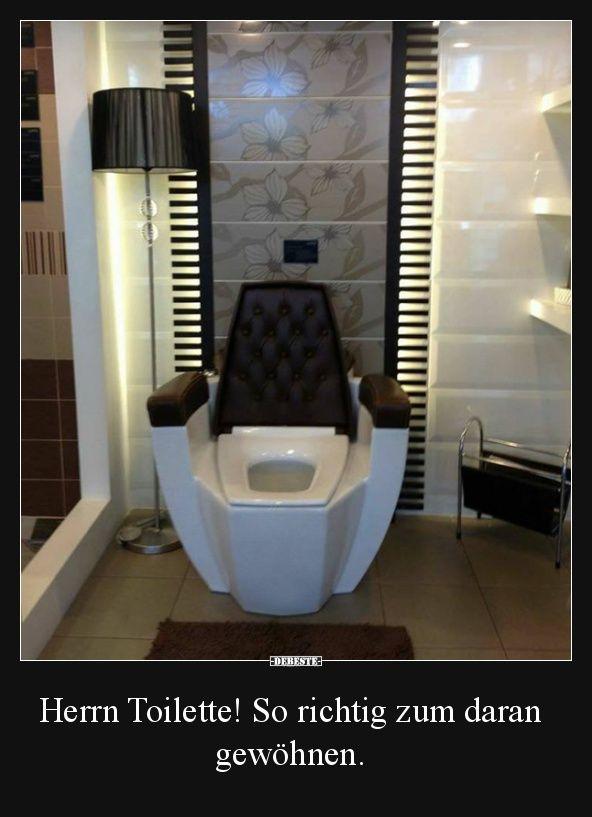 4 Car Garage >> Herrn Toilette! So richtig zum daran gewöhnen. | Lustige Bilder, Sprüche, Witze, echt lustig ...