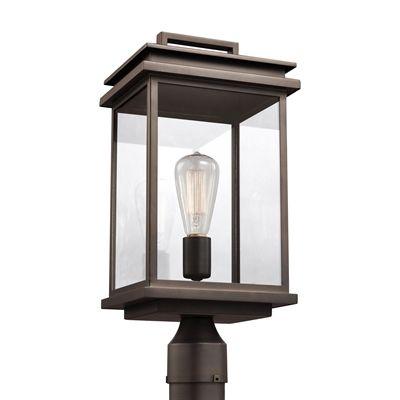 Feiss OL13607 Glenview 1-Light Outdoor Post Lantern