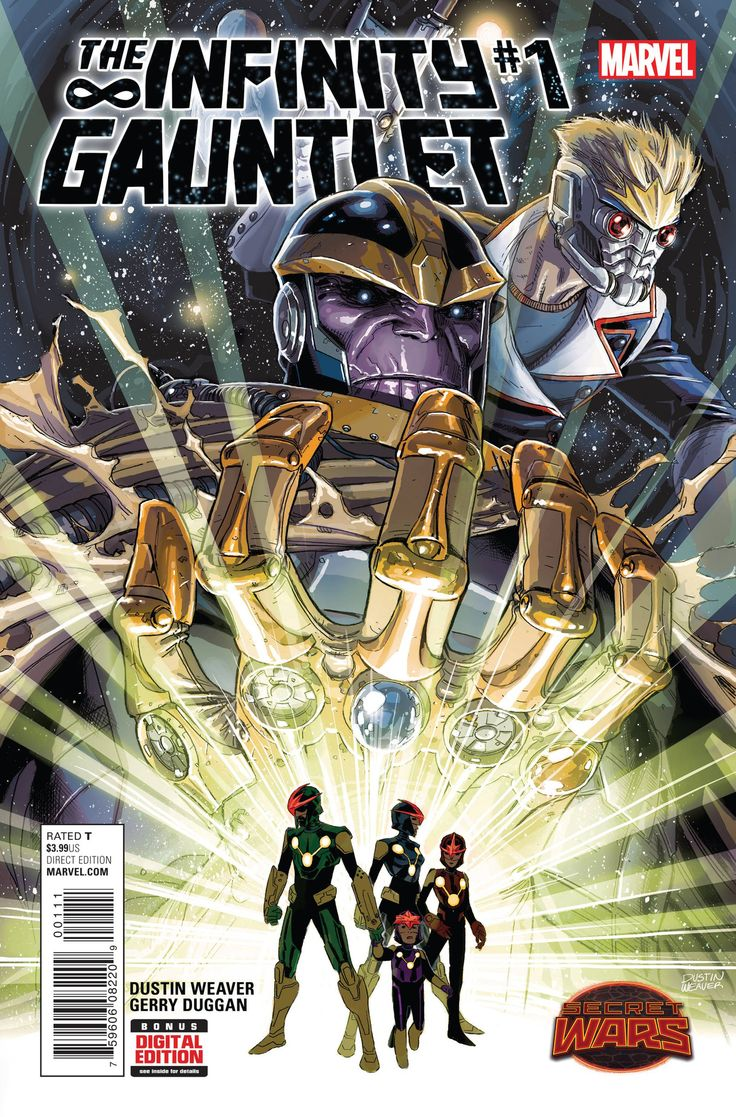 Infinity Gauntlet (2015) Issue #1