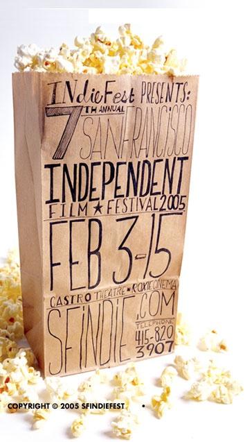 San Francisco Film Festival 2005 Popcorn packaging