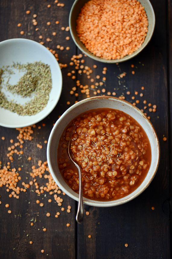Madame Gateau: Soupe de lentilles corail à la tomate