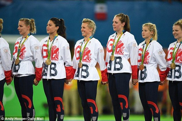 Team GB also won gold in the women's hockey final this week at Rio 2016...