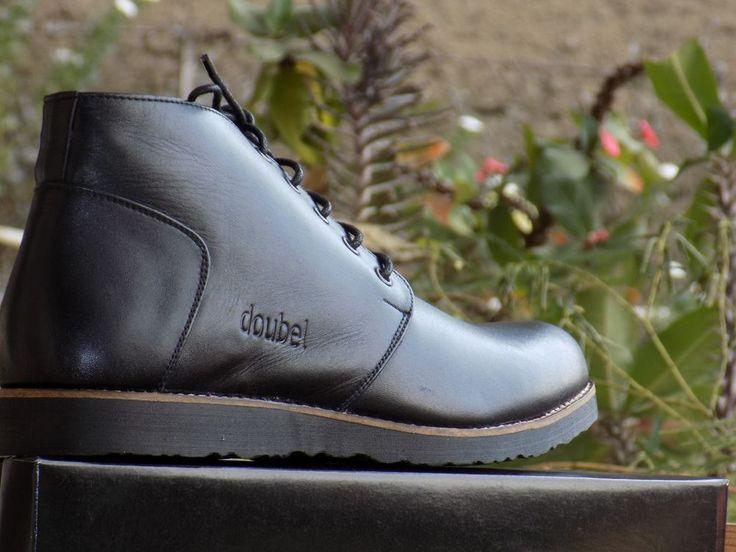 "original ""Mr doubelmen footwear"" ankle boot genuine leather and handmade #doubelmenfootwear #AnkleBoots"