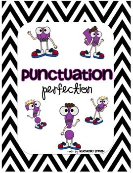 Freebie for teaching punctuation!There are 6 posters included:*Question Mark*Exclamation Point*Period*Comma*Quotation Marks*Apostrophe There are 6 recording sheets ...