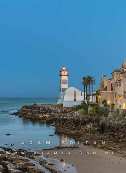 Santa Marta Lighthouse in Cascais, Portugal. All rights reserved - Copyright © Adam Zoltan  http://adamzoltan.net