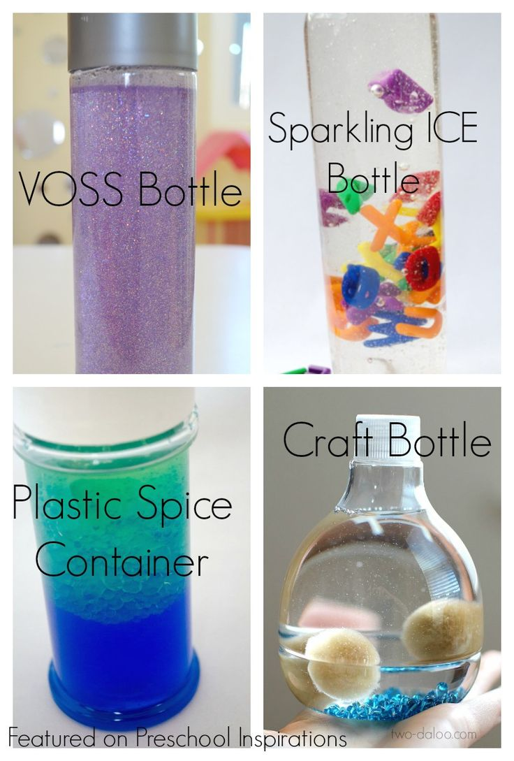 What bottle is best for a sensory bottle? Here are all of my tips and tricks to make  a perfect sensory bottle.