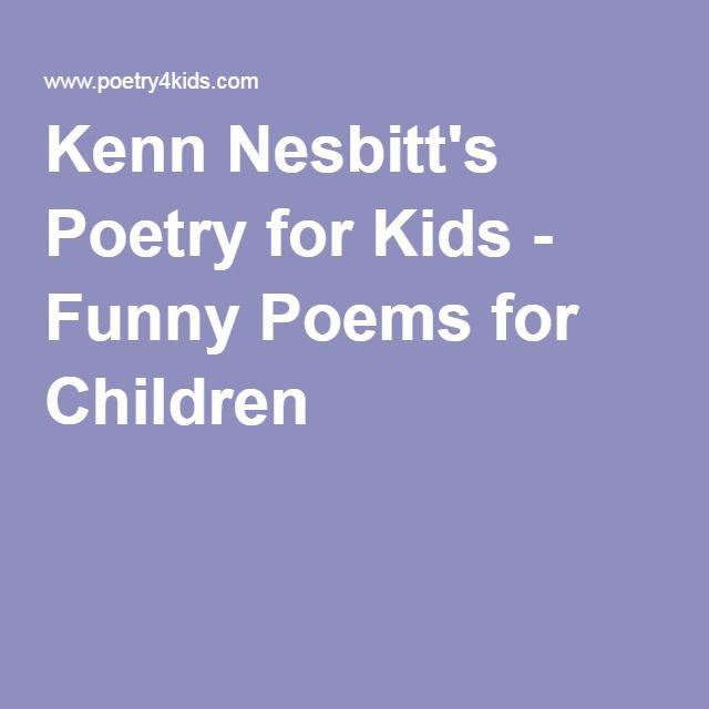 Kenn Nesbitt's Poetry for Kids - Funny Poems for Children