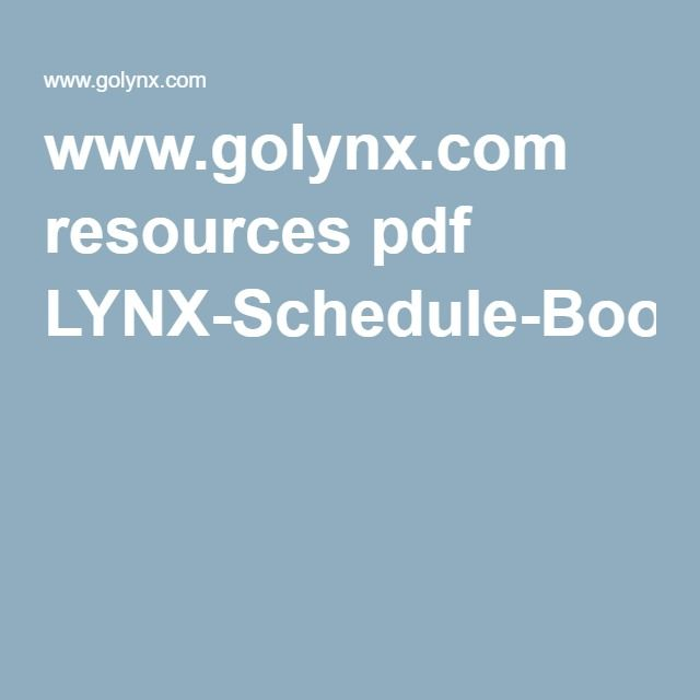 www.golynx.com resources pdf LYNX-Schedule-Book_042416_Final-Web.pdf