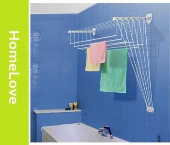 Ścienno-sufitowa suszarka 135cm łazienka pranie