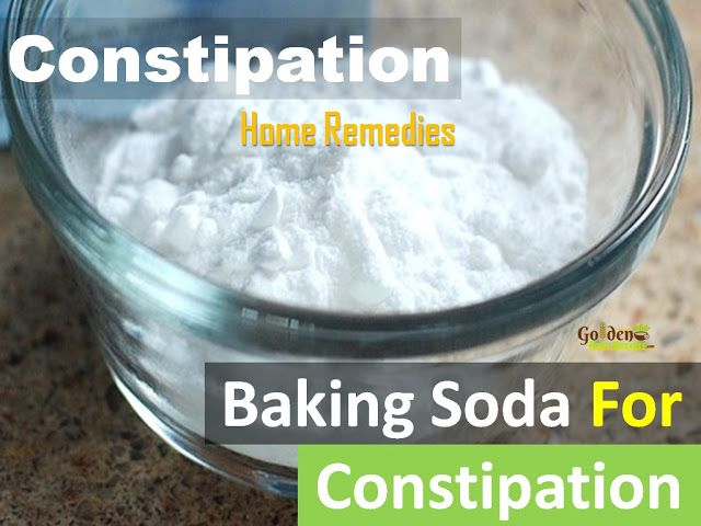 Baking Soda for Constipation: How To Use Baking Soda For Constipation - Natural and Easy