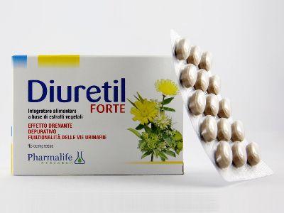 Diuretil® Forte è l'integratore alimentare utile nei casi di ritenzione idrica, gonfiore, aumento di peso legato all'accumulo di liquidi, ipertensione.