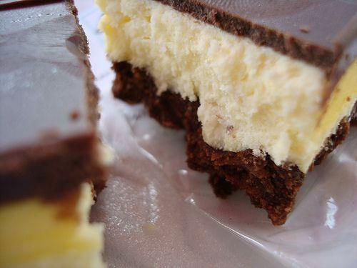 "the ""Nanaimo"" (pron.""nuh nye mo"") bar! (Canadian amazingness!) CakeSpy: ""Nanaimo Bar"" Extravaganza"