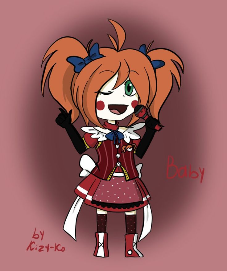 how to draw circus baby