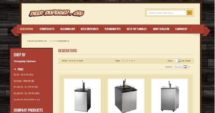 http://beerdispenser.org/kegerators.html