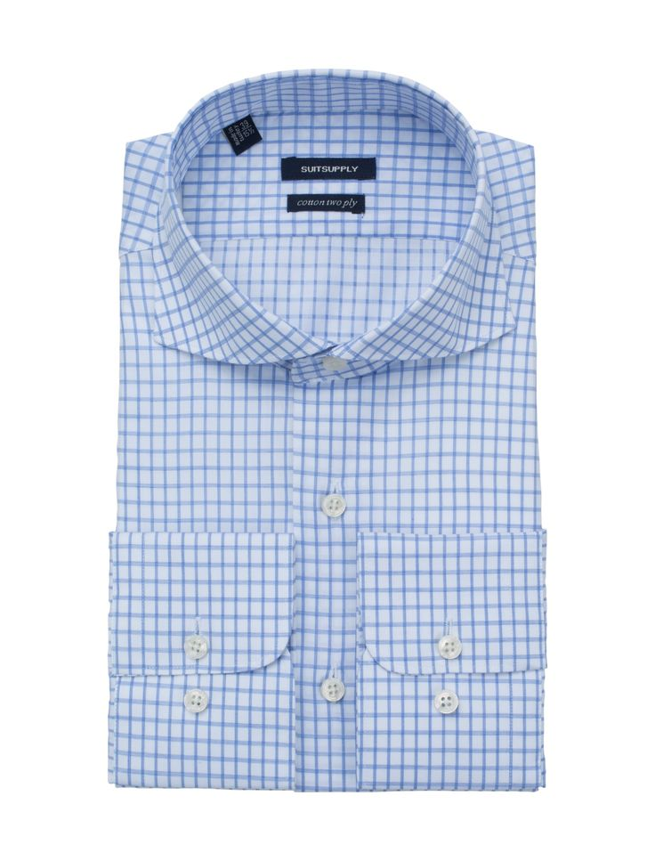Blue Shirt Single Cuff H4862 | Suitsupply Online Store