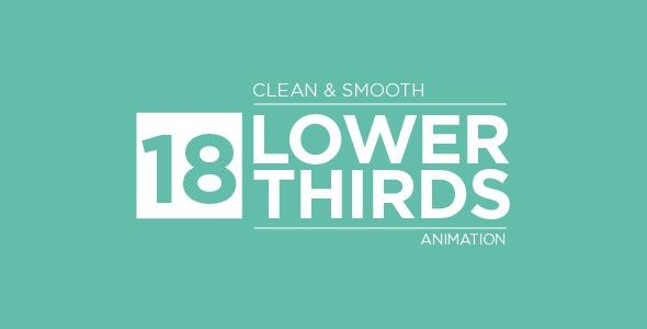 Lower Thirds20633452 Videohive – Free Download After Effects Project After Effects Version CS5, CS5.5, CS6, CC | 1920×1080 | Requires Plugins No | 277 Mb This is a project file that consist 18 versions of modern and trending lower thirds that suitable for brand videos, web videos, Youtube content, interview video, corporate presentation and vlogs. A well animated lower thirds title can make your video look much more professional and give a strong impression to your audience. That's why I'd…