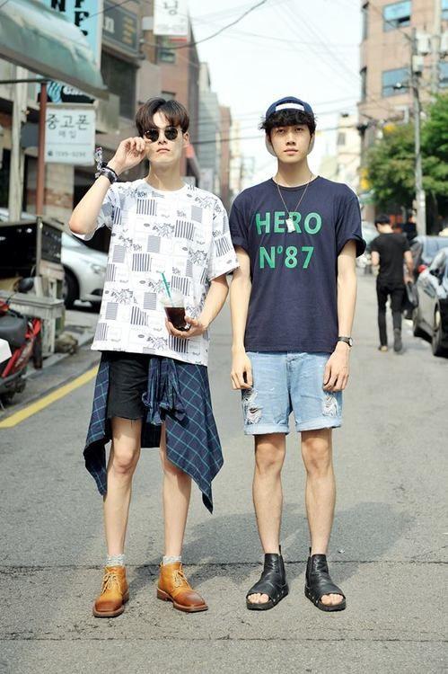 Streetstyle: Kim Wonjung and Park Jiwoon shot by Choi Seungjum