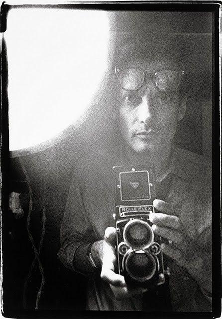 Richard Avedon: self-portrait.