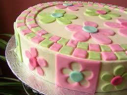 Risultati immagini per torte di compleanno pasta di zucchero con fiori