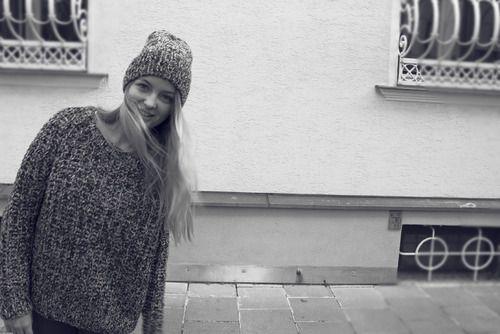 Duffy pullover + beanie