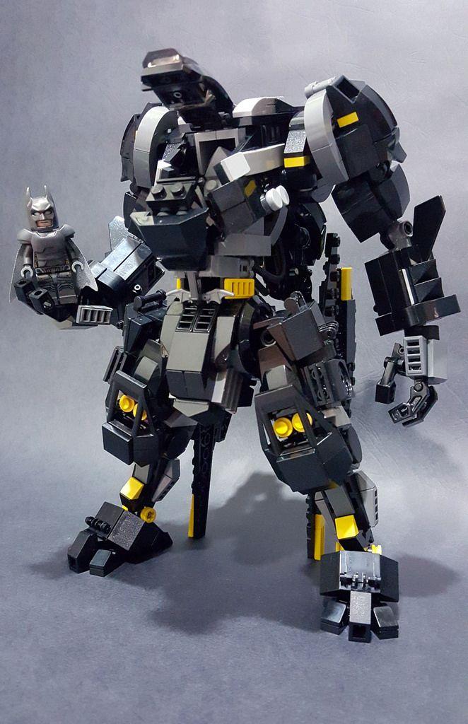 Lego Samurai Mech Building Instructions