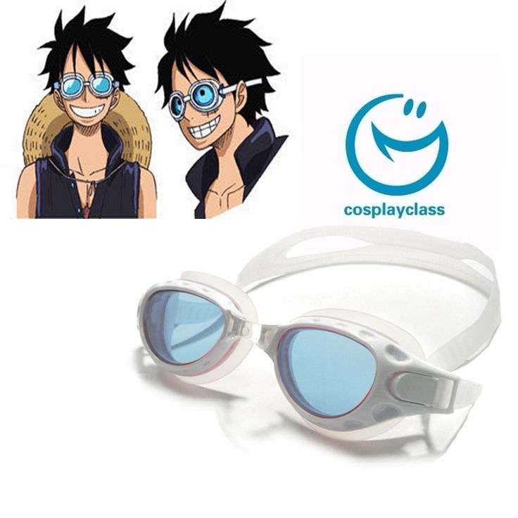 One Piece 2016 Film Gold Monkey D Luffy Swimming Goggles Cosplay Accessories  #obepiece #luffy #swimminggoggles #cosplay