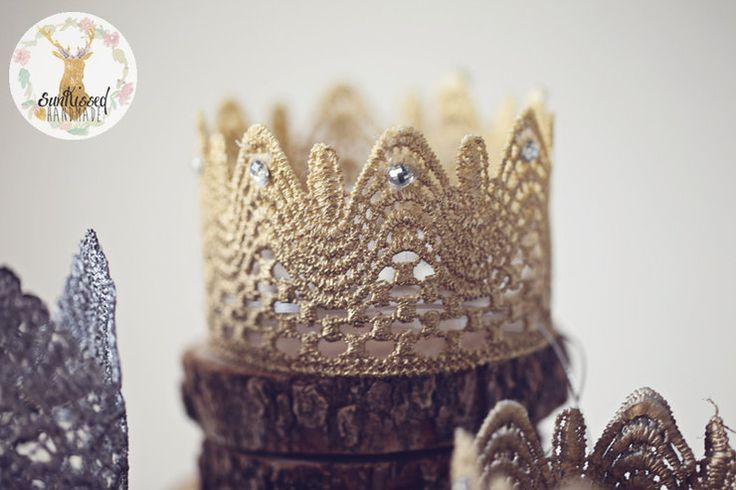 Baby Lace Crown  by Sunkissed Handmade for sale on http://hellopretty.co.za