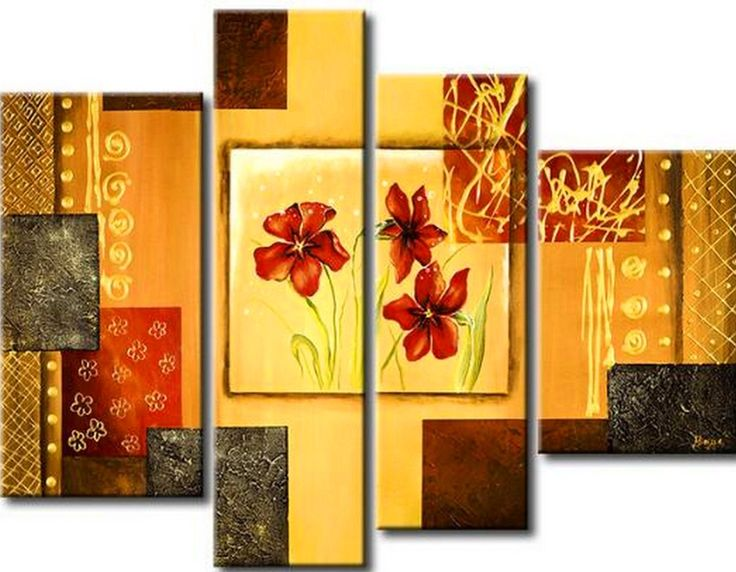 33 best images about cuadros de flores on pinterest - Floreros modernos ...
