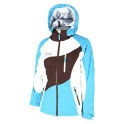#Bunf giacca sci marrone/ celeste donna  ad Euro 75.00 in #Bunf #Donna giacche