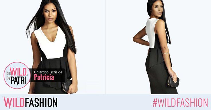 Hello, fetelor! Aveţi nevoie de o ţinută elegantă pentru zi? Combinaţia de alb şi negru este cea mai bună soluţie. Like dacă vă place propunerea mea, Share să primiţi şi voi cât mai multe likeuri!